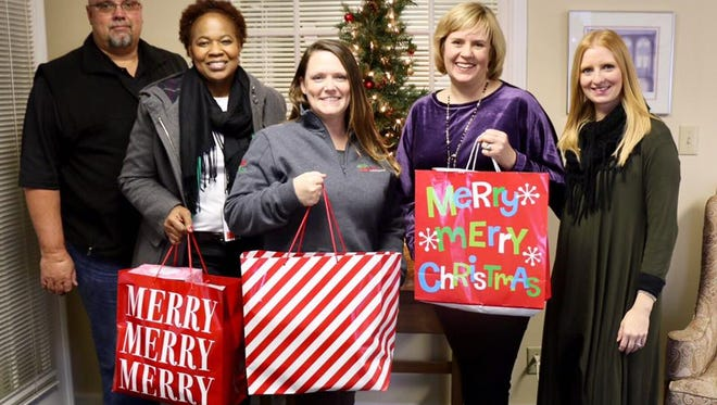 The Clarksville community changed the game during the holiday season by giving back to less fortunate families and individuals through United Way's Adopt-A-Family Holiday program