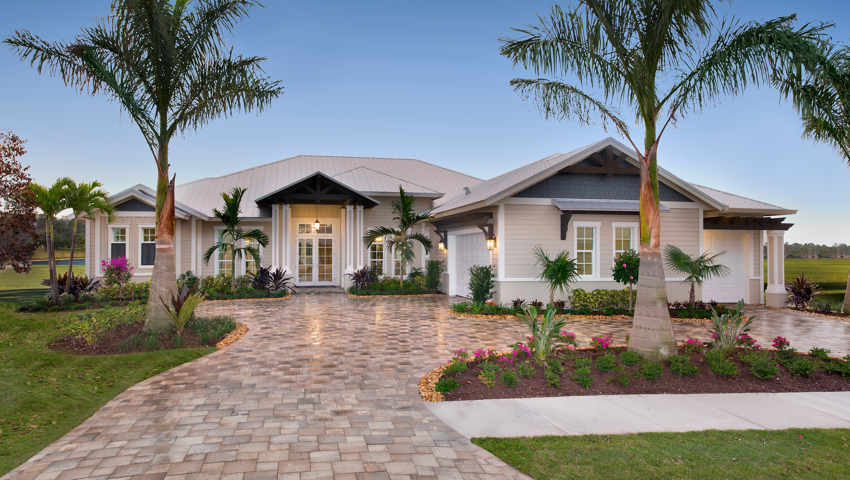 Two new models unveiled by florida lifestyle homes for Florida modern homes