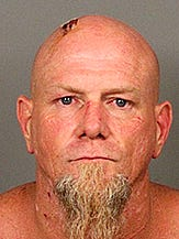 Desert Hot Springs resident Jeremy Hulse was arrested Aug. 17 following a robbery and standoff in Sky Valley. Authorities are looking for a second suspect in the incident.