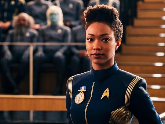 """Sonequa Martin-Green as Michael Burnham on """"Star Trek:"""