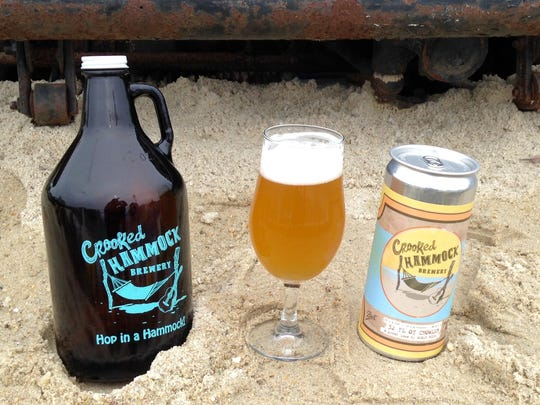 Sand, beers and hammocks collide at Delaware's newest brewery, The Crooked Hammock.