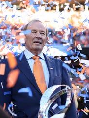 Jan 19, 2014; Denver, CO, USA; Denver Broncos owner