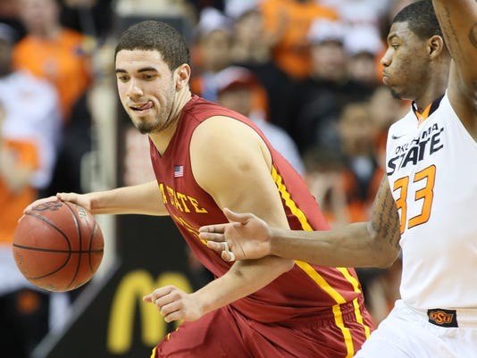NCAA Basketball: Iowa State at Oklahoma State
