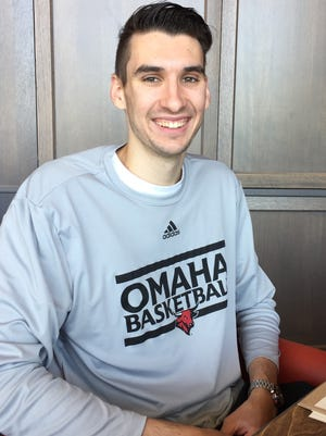 Evan Trick, a 2016 graduate of First Baptist Academy, signed a letter of intent to play for the University of Nebraska Omaha on Thursday, June 1, 2017.