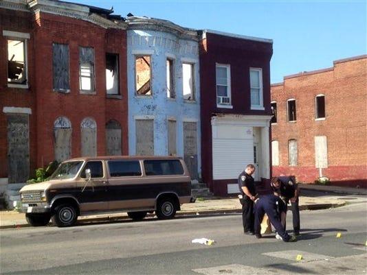 Homicide Spike Baltimore