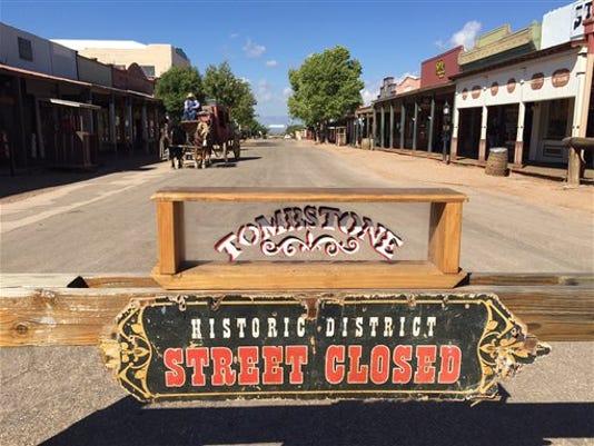 Tombstone skit shooting 2015
