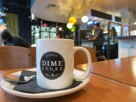 The stylish Dime Store opened in the fall in the former Dime Building, now called the Chrysler House, at Griswold and Fort.