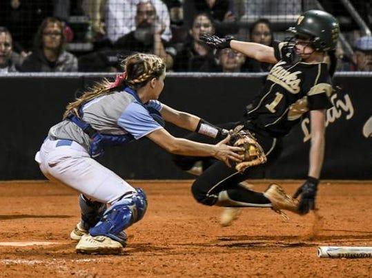 High School Softball: Viera at Rockledge
