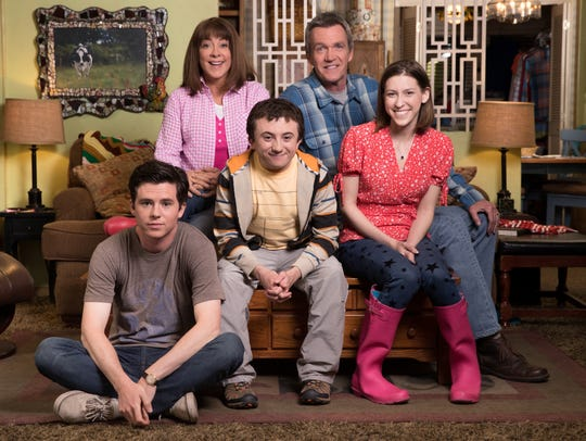 "The cast of ABC's ""The Middle"" - Charlie McDermott,"