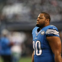 The Detroit Lions declined to use the franchise tag on Ndamukong Suh on Monday.