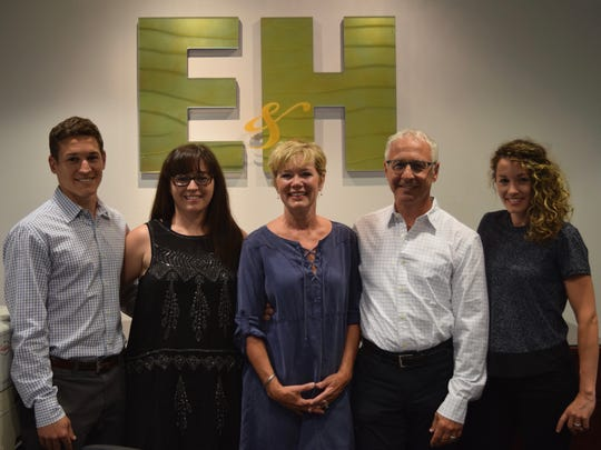 Emmanuele and Haut accounting firm includes effort from multiple generations of the Emaneule family, including (from left) son Tony, daughter Rosina, mother Jane, father Sam and daughter Anna.