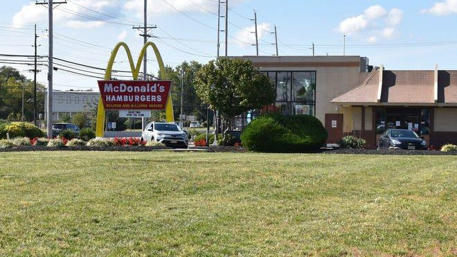 After leading authorities on a chase through two counties, a mid-Michigan suspect decided to take a nap at a McDonald's.