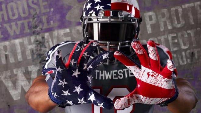 Northwestern University's uniform