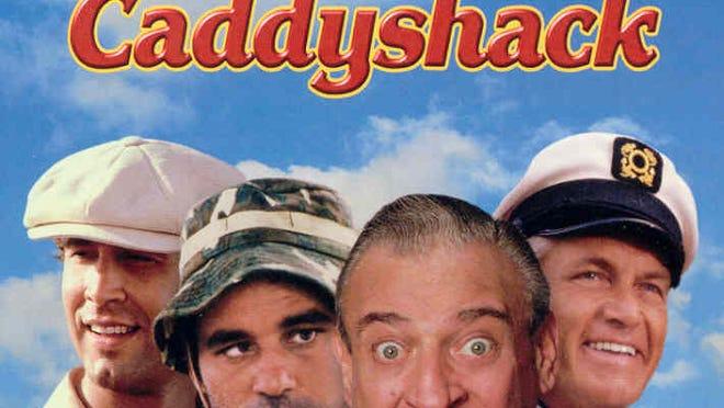 The Harold Ramis directed 'Caddyshack.'