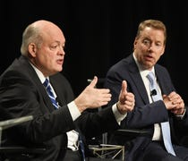 Can new CEO Hackett recreate teamwork ethos in cen...