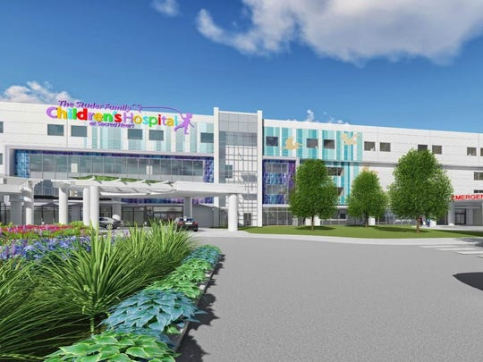 A rendering of the expansion of The Studer Family Children's