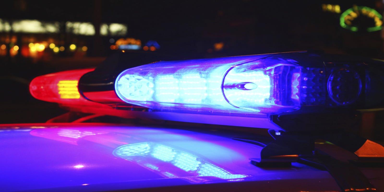 FedEx truck crashes into garage on Apple Blossom Lane