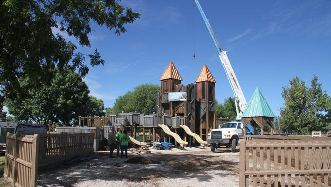 Playground on the Pecos reopening was postponed until November due to issues with the playground's face lift.