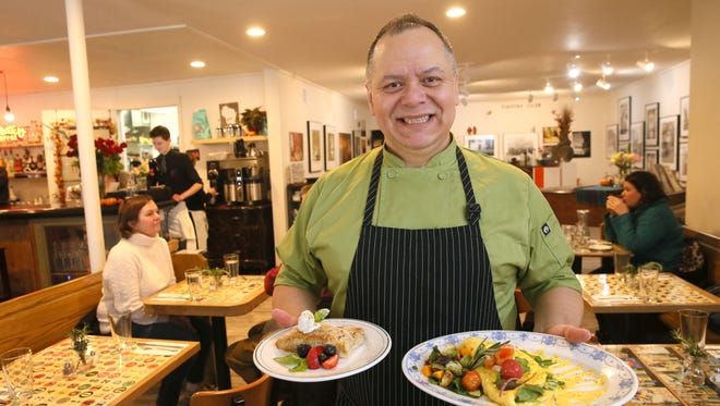"""Francisco """"Frank"""" Sanchez is chef, general manager and co-owner at Sabrosa Cafe & Gallery, 3216 S. Howell Ave."""