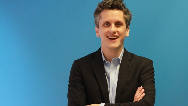 Box CEO Aaron Levie recently visited USA Today's San Francisco offices to talk about his cloud storage companies past, present and future.