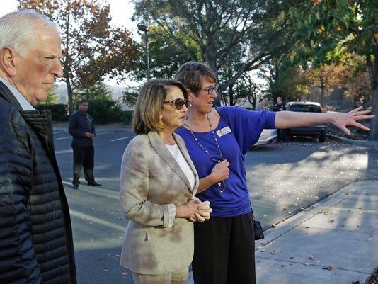 Mike Thompson, Nancy Pelosi, Naomi Fuchs
