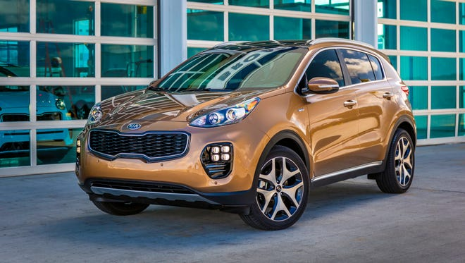 2017 Sportage SX Turbo AWD crossover