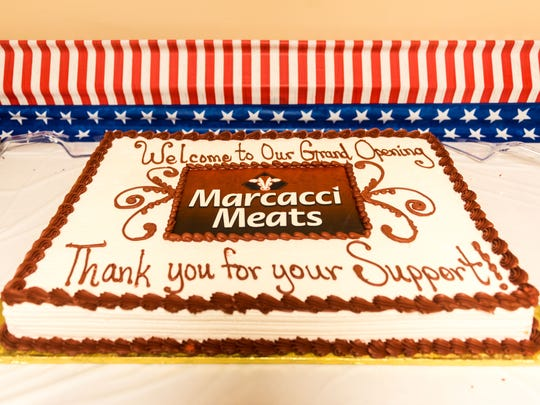 Marcacci Meats cut the ribbon for their new location