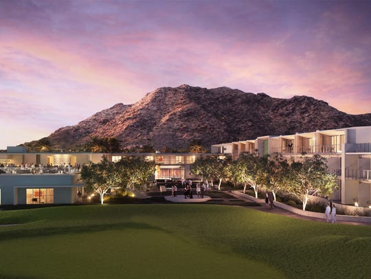 Mountain Shadows, a 183-room resort on the prized Paradise