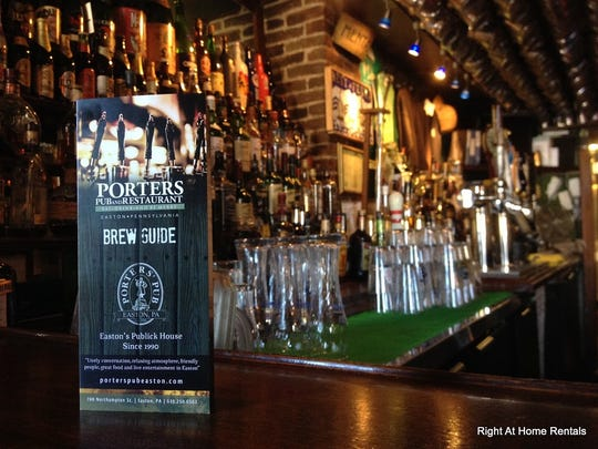 Porters Pub offers a rotating menu of 150 beers.
