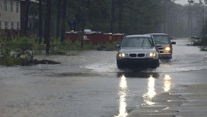 Santa Rosa neighborhoods flooded, more rain coming.
