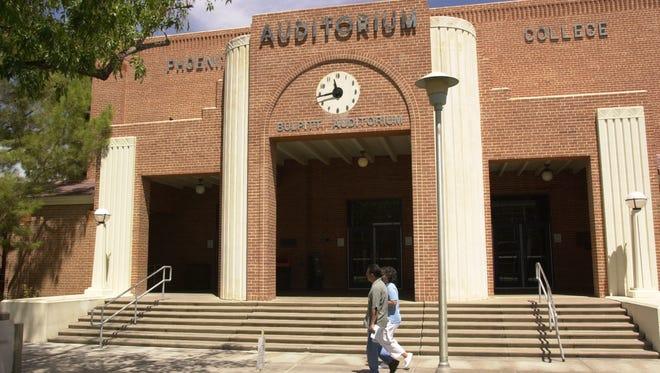 Bulpitt Auditorium is one of the three original buildings on the Phoenix Colleege campus.