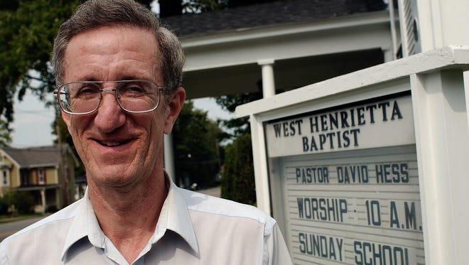 Rev. David Hess