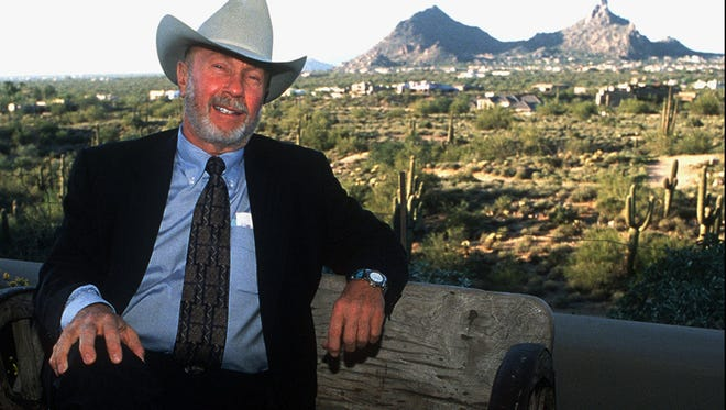 Herb Drinkwater was a four-time mayor of Scottsdale. An exhibit at the Scottsdale Historical Museum celebrates his legacy.