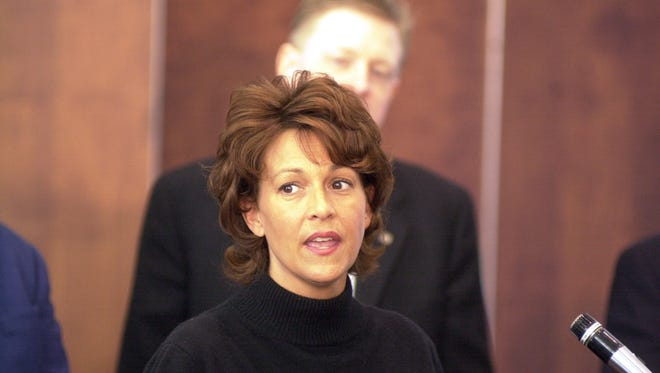 Vicky Haire during her time as Clark County Commissioner in 2003.