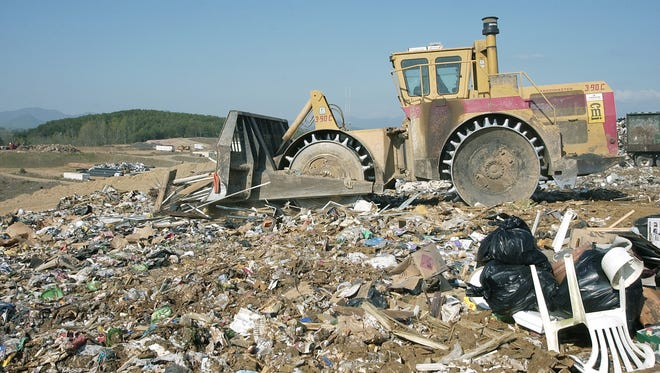 The Buncombe County Landfill has at least 20-25 years of life left.