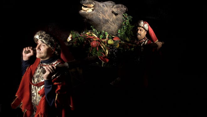 First Christian Church will offer three performances of the Boar's Head & Yule Log Festival on Saturday.