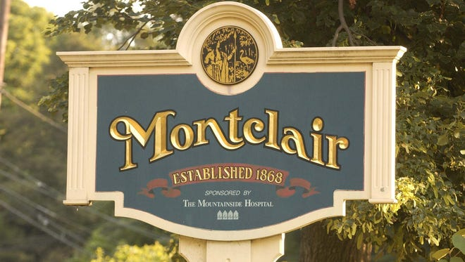 Montclair's welcome sign