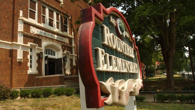 Rountree Elementary is located on Grand Street between National and Glenstone avenues.