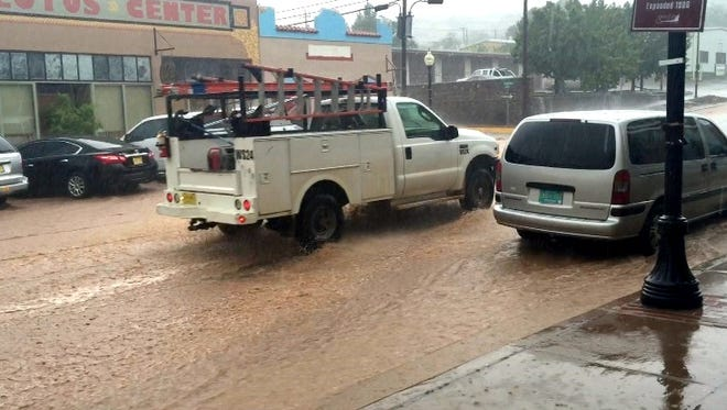 Remnants of Hurricane Newton could dump between 1 and 3 inches of rain in Silver City starting Wednesday. Last week, streets were flooded in downtown Silver City when a thunderstorm drenched Silver City with more than two inches in a few hours.