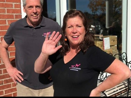 Frank and Barbara Buonvicino, owners of Woof Gang Bakery