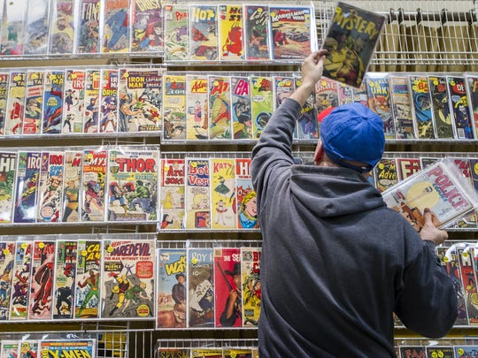 Free Comic Book Day is Saturday, May 6.