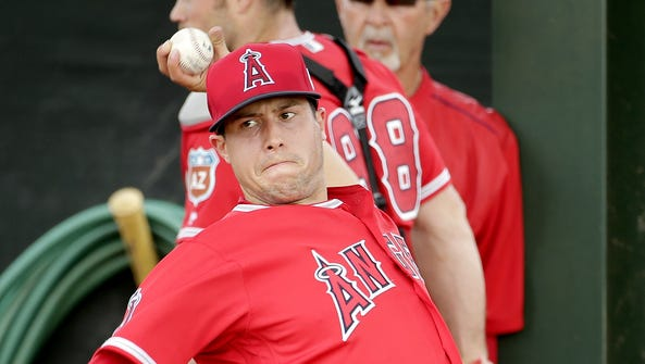 Tyler Skaggs hasn't pitched since July 31, 2014, but
