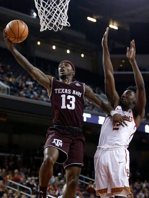 Texas A&M's road win at USC Sunday night is one of the better wins early in this college basketball season – because it happened where many teams won't go: on the road.