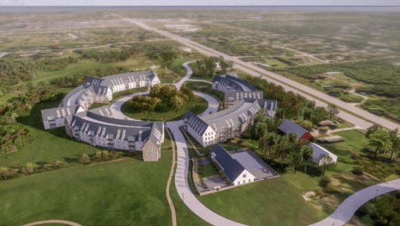 Mandel Group Inc.'s plans for a luxury apartment development in River Hills have been greatly scaled back.