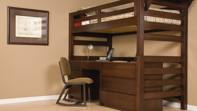 Greenfield-based University Loft Co. manufactures furniture for dorm rooms.