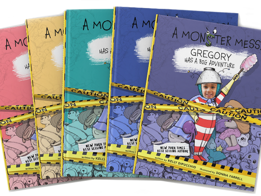 "These 45 toys and products have earned the NAPPA seal of approval in 2017. Pictured are the ""A Monster Mess!"" series of books."