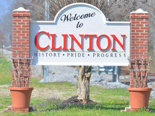 Clinton, city