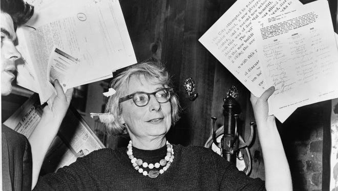 """Urban activist"" Jane Jacobs is profiled in ""Citizen Jane: Battle for the City."""