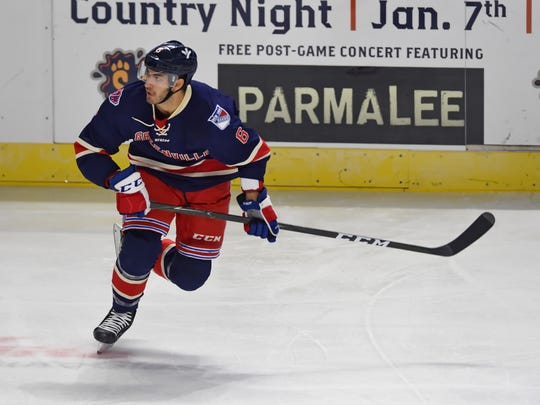 Greenville's Spiro Goulakos. The Greenville Swamp Rabbits