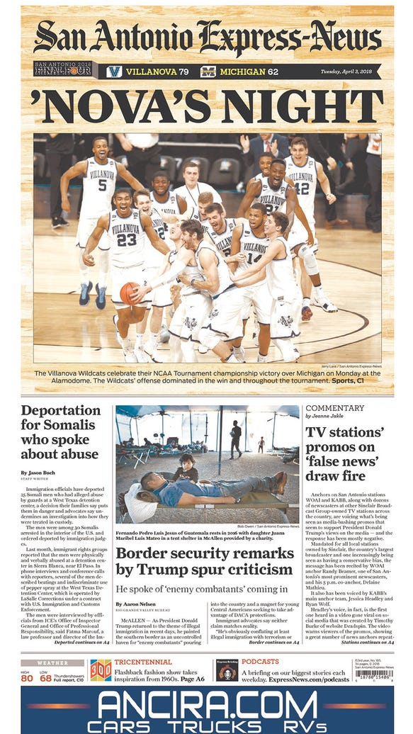 The best front pages after Villanova's championship: 'Donte's Inferno' to 'Maize & Bruised'